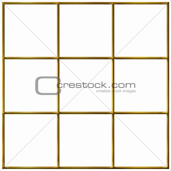 3D Golden Grid