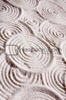 Abstract Circle Sand