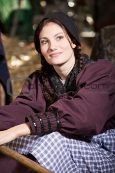 Beautiful farmgirl