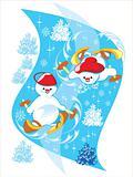 snowman ski
