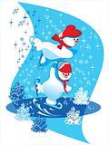 snowman skate