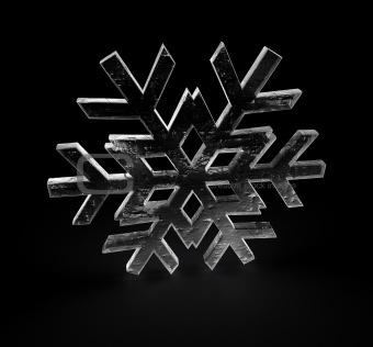 3D snowflake