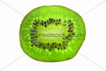 Close up of kiwi