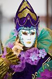 Colorful Venetian Costume