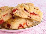 Cranberry & Cherry Scones