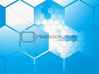 abstract technology background, illustration