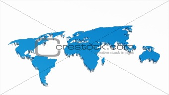 Business world  map