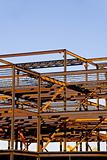 Steel Building Frame Construction