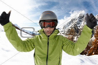 Skier