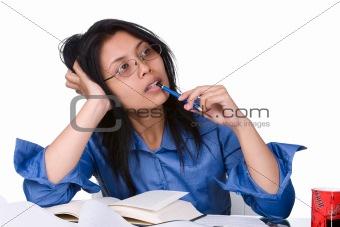 Facing the next morning examination (deadline)