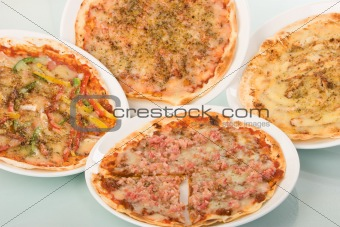 Four Pizzas