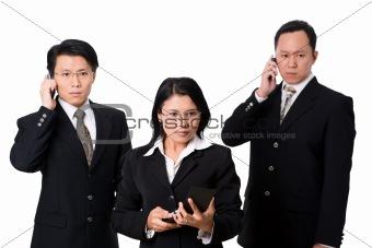 Three panic brokers