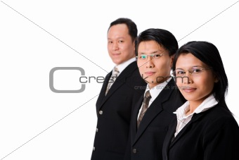 Three executives