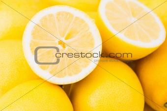 A pile of lemons