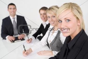 Modern Office Teamwork