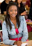 black female student