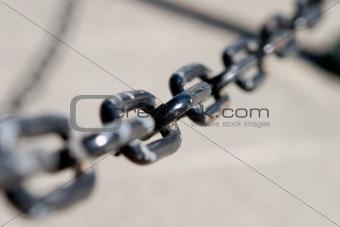A black chain