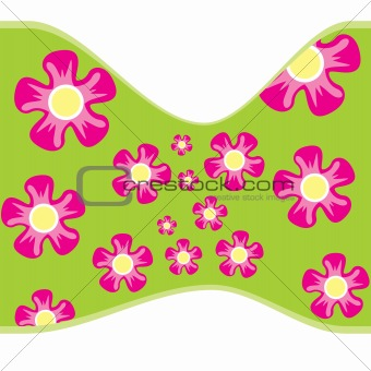 Seamless flower texture
