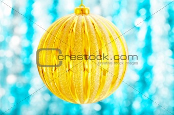 The big Christmas ball