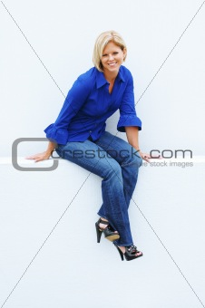Casual Mature Woman