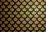Black and gold glamour pattern