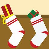 Gifts in the socks