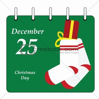 Calendar - Christmas Day