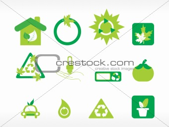 abstract ecology series icon set_3