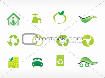 abstract ecology series icon set_4