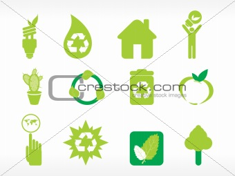 abstract ecology series icon set_8