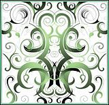 Decorative ornament swirls