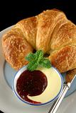 Croissant With Jam 2