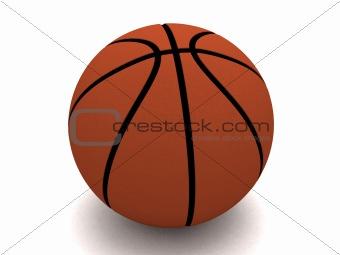 three dimensional basket ball