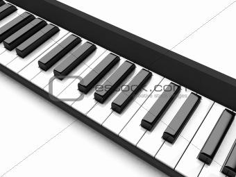 three dimensional casio keys