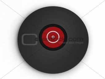 three dimensional vintage vinyl record