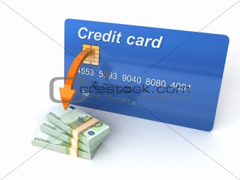 three dimensional credit card