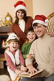Cheerful family