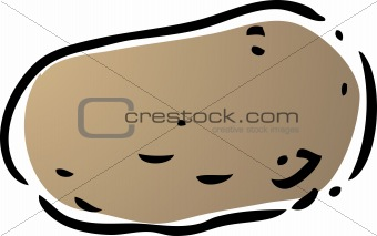Potato illustration