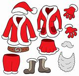 Santa Clauses clothes collection