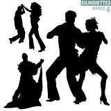 Silhouettes Dance 04