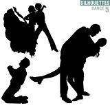 Silhouettes Dance 05