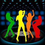 Dancing Girl 08