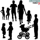 Silhouettes - Family 3