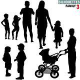 Silhouettes - Family 3
