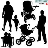 Silhouettes - Family 4