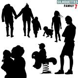 Silhouettes - Family 7