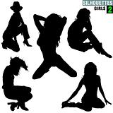 Girls Silhouettes 02