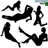 Girls Silhouettes 03