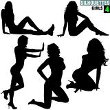 Girls Silhouettes 04