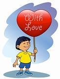 Valentines boy